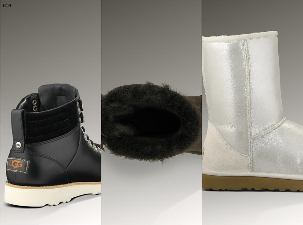 stivali ugg sulla neve