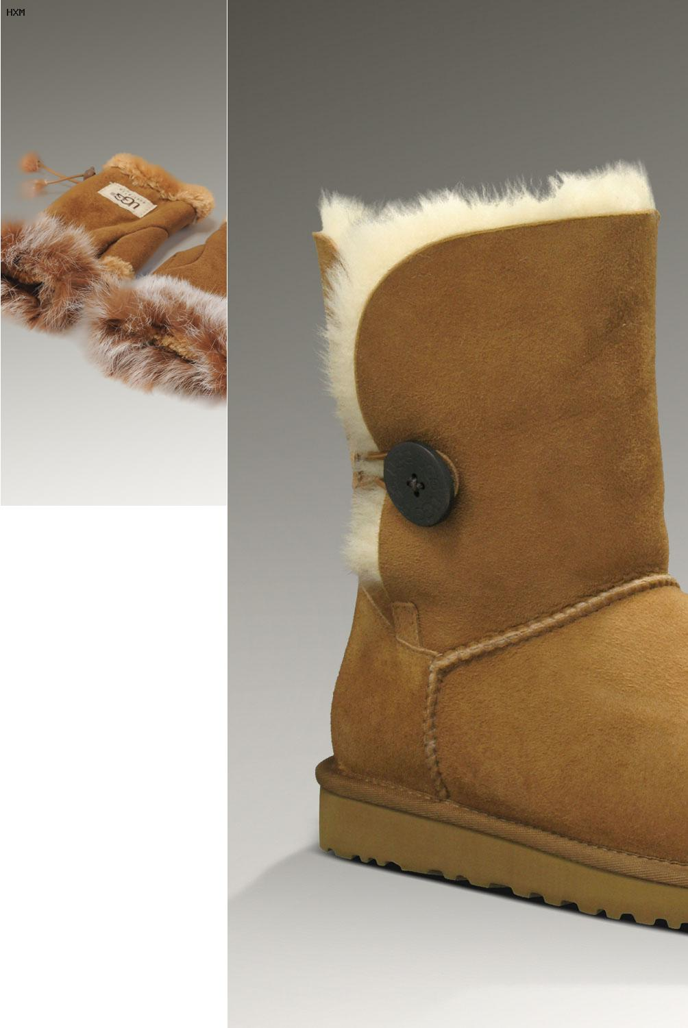 ugg con neve