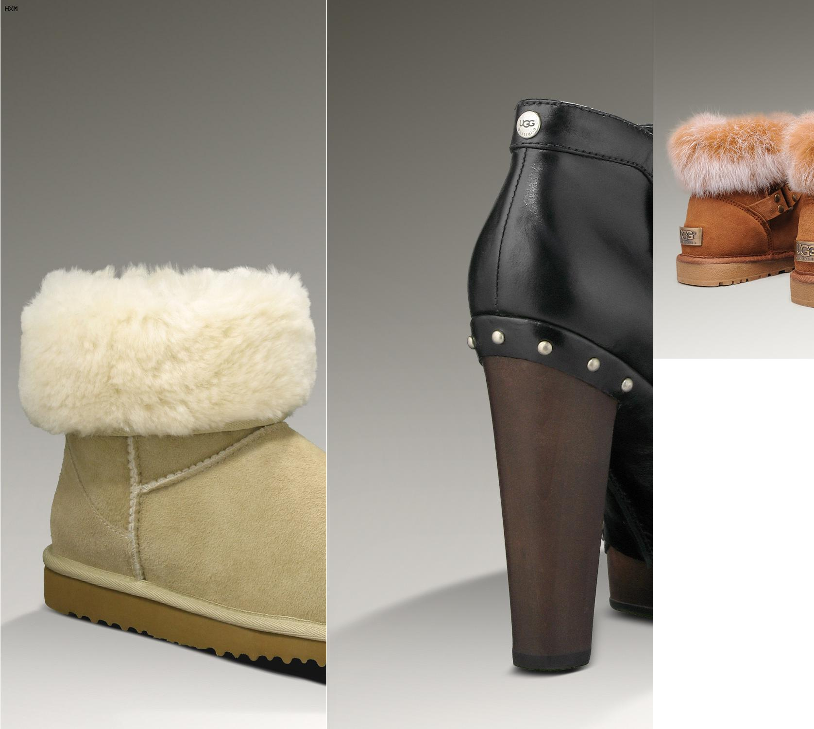 ugg paillettes oro